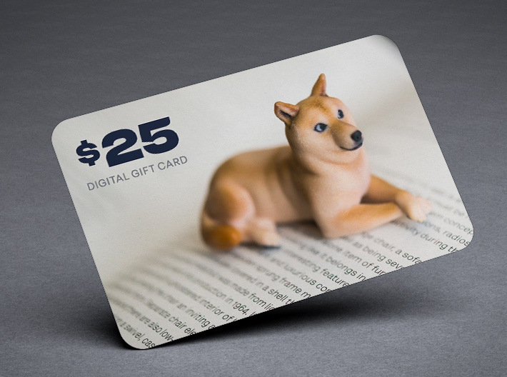 Shapeways $25 Gift Card