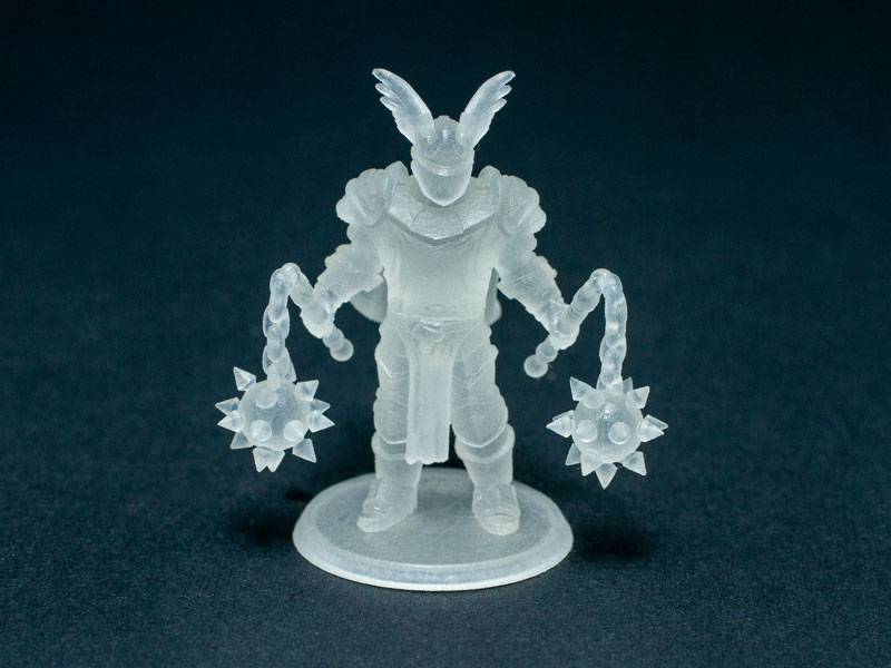 Frosted Ultra Detail Plastic 3d Printing Material