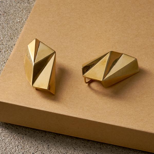 3D Printed Facet Earrings