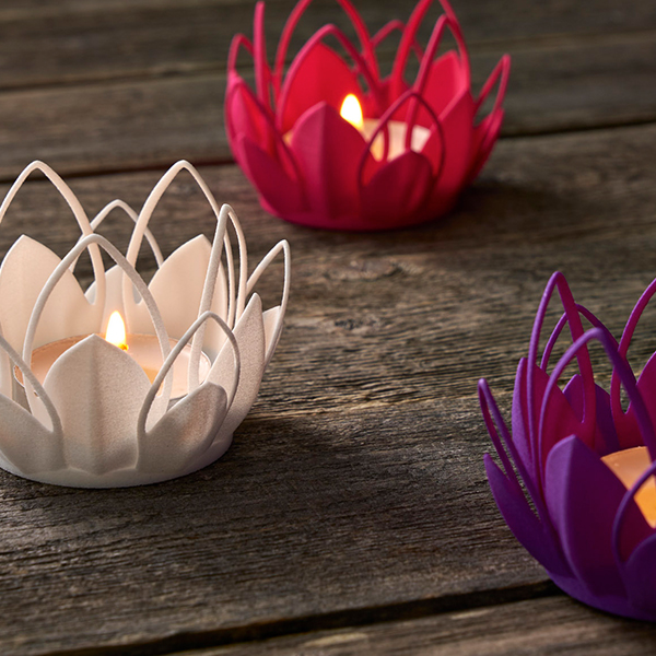 Versatile Plastic Tea Light Candle Holders