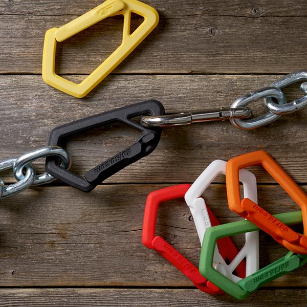 Versatile Plastic 3D Printed Carabiner