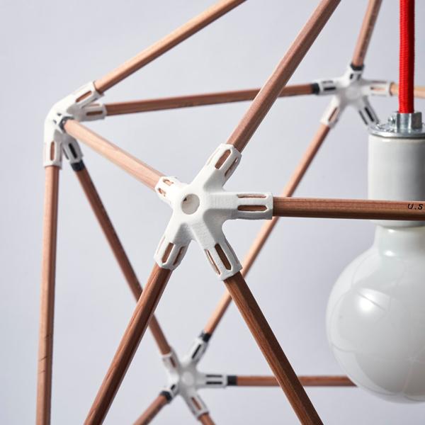 Versatile Plastic Light Fixture Connectors