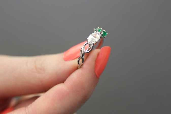How I Made a Custom Engagement Ring