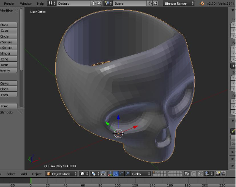 How i made a skull ring from a 3d scan shapeways for Mirror zbrush