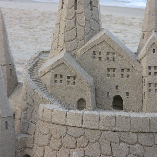Sandcastle Rule: If this structure was made of wet sand, would it break?