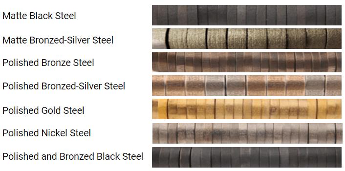 steel color variation