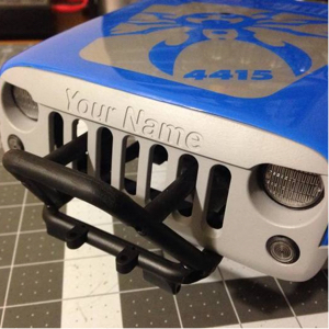 Personalize RC Cars