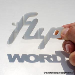 3D Word Flip