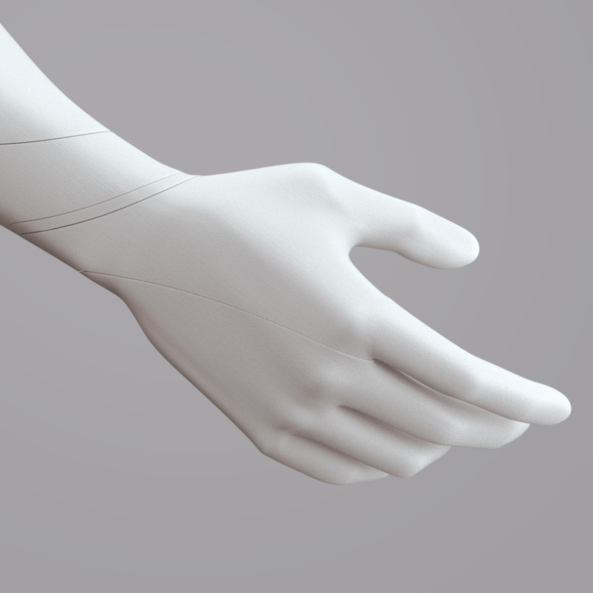 PA11 3D Printed Prosthetic Hand