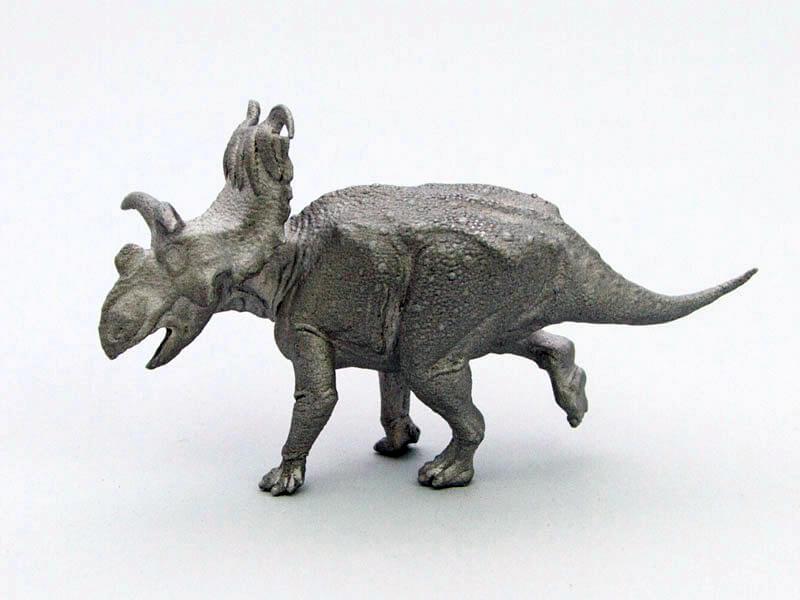 Kosmoceratops in Aluminum