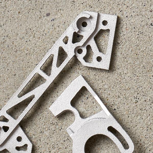 3D Printed Aluminum Drone Parts