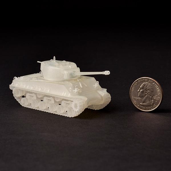 3D Printed Plastic Tank
