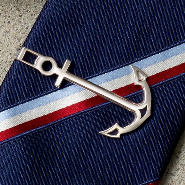 3D Printed Anchor Tie Clip