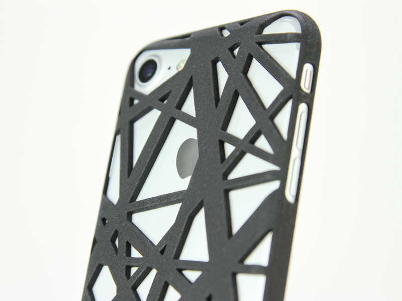 iPhone 6 / 6S Case_ Intersection in Black Nylon