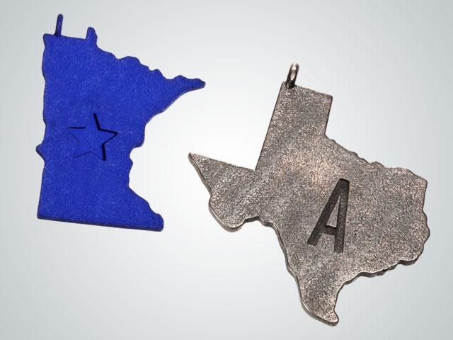Shapeways and target state pendants state pendants aloadofball Gallery