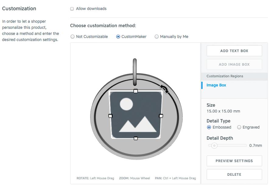 Custom Maker Tool Screenshot 2