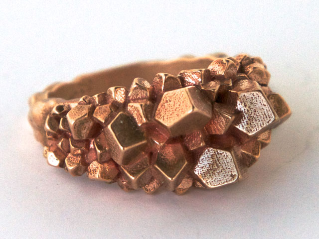 Bronze 3d printing material information shapeways for What metal is best for jewelry